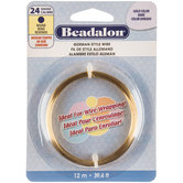 24-Gauge Beadalon Round German Style Wire